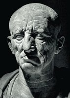The Patrician Torlonia bust of Cato the Elder, 1st century BC