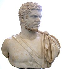 Bust of Caracalla from the Pergamon Museum, Berlin