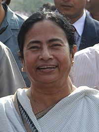 Mamata Banerjee, Chief Minister of West Bengal and Chairperson of All India Trinamool Congress.