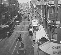Hanover St., from Court St., 19th century