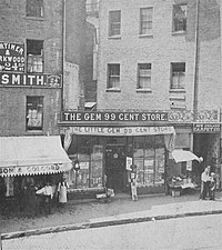 The Gem 99 Cent Store, c. 1860s-1870s
