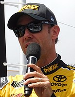 Matt Kenseth won the race, but failed post-race inspection.