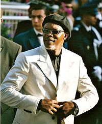 Jackson at the 2005 Cannes Film Festival
