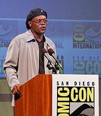 Jackson at the 2010 Comic-Con in San Diego