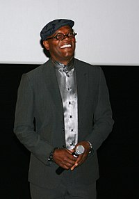 Jackson at the premiere for Cleaner in Paris, April 2008