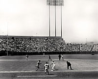 A Giants game at Candlestick in 1965