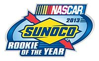 Sunoco Rookie of the Year logo