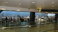 Airport security stations at Seattle–Tacoma International Airport