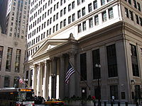 The Federal Reserve Bank of Chicago at the heart of Chicago's financial center