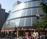 The James R. Thompson Center in Chicago