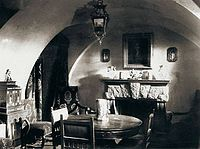 Basement of the Yusupov Palace on the Moika in St. Petersburg, where Rasputin was murdered