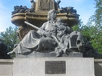 """Pioneer Mothers of Colorado"" statue at The Denver Post building"
