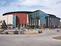 Pepsi Center, home of the Denver Nuggets and the Colorado Avalanche