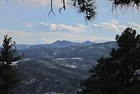 Genesee Park is the largest of the Denver Mountain Parks.