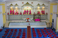 The Gibraltar Hindu Temple opened in 2000.