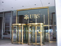 UBS building on Avenue of the Americas in Midtown Manhattan