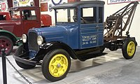 1927 Graham BB 1 Ton at the Iowa 80 Trucking Museum; Dodge 4-cylinder engine; Dodge transmission; Top speed - 40 MPH
