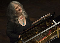 Martha Argerich at the Kirchner Cultural Centre, Buenos Aires