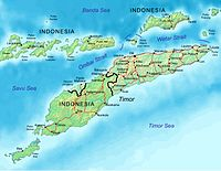 Geography of East Timor