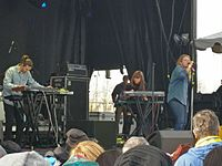 Londoner Kate Tempest performing at the Treefort Music Fest