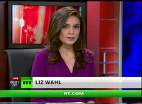 RT America broadcast with former anchor Liz Wahl