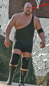 Big Show at the Tribute to the Troops in 2004