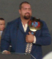 Big Show as the ECW World Champion
