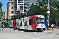 TRAX light rail serves Salt Lake County