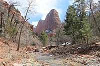 Kolob Canyons at Zion National Park