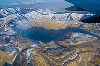 Mining has been a large industry in Utah since it was first settled. The Bingham Canyon Mine in Salt Lake County is one of the largest open pit mines in the world.