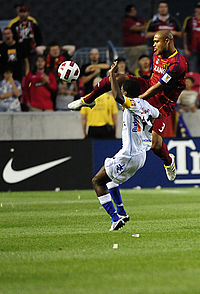 Robbie Russell playing for Real Salt Lake