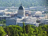 The Utah State Capitol, Salt Lake City