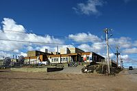 The former regional network centre for CBC North in Iqaluit