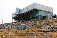 The Nattinnak Centre in Pond Inlet includes a branch of the Nunavut Public Library Services.