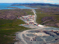 The Hope Bay gold mine is one of three major mines in the territory.
