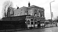 The Cart and Horses Pub, located in Maryland Point, Stratford, was where Iron Maiden played some of their first shows in 1976.