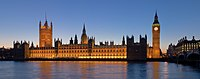 The Palace of Westminster is a UNESCO World Heritage Site which houses the Parliament of the United Kingdom.