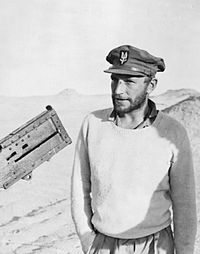 Paddy Mayne from County Down; a founding member of the SAS; was one of the most decorated British soldiers of World War II. He also played rugby for Ireland.