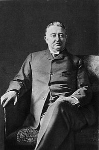 Cecil John Rhodes, the 6th Prime Minister of the Cape Colony (divided between two provinces in modern-day South Africa) and founder of the De Beers diamond company.