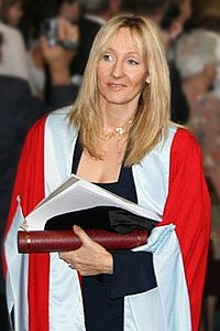 J.K. Rowling is one of the world's best selling British authors. Her Harry Potter series of books have sold more than 400 million copies worldwide.