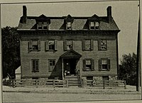 The Norris Tavern, in Morristown, New Jersey, where the trial took place