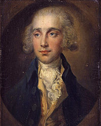 James Maitland, 8th Earl of Lauderdale, fought a duel with Arnold. Portrait by Thomas Gainsborough.