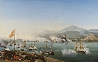 The Battle of Navarino in 1827 secured Greek independence.