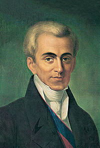 Count Ioannis Kapodistrias, first governor, founder of the modern Greek State, and distinguished European diplomat