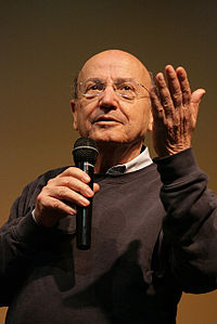 Theodoros Angelopoulos, winner of the Palme d'Or in 1998, notable director in the history of the European cinema