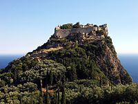 The Byzantine castle of Angelokastro successfully repulsed the Ottomans during the First Great Siege of Corfu in 1537, the siege of 1571, and the Second Great Siege of Corfu in 1716, causing them to abandon their plans to conquer Corfu.