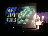 Worst Supporting Actress at the 29th Golden Raspberry Awards.