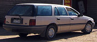 EA II Falcon GL station wagon - rear styling continued till the EL series