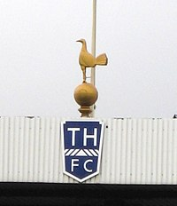 Since 1909, Tottenham have displayed the statue of a cockerel, first made in bronze by a former player