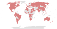 Countries with politicians, public officials or close associates implicated in the Panama Papers leak on April 15, 2016